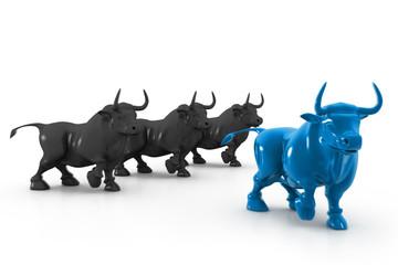 Business bull