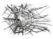 Broken Glass Vector - 66735002