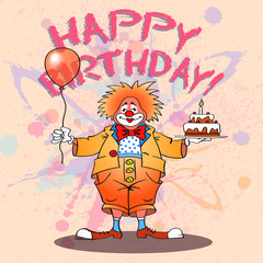 happy clown02color