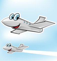 airplane cartoon