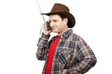 Chap listening cowboys radio stations poster