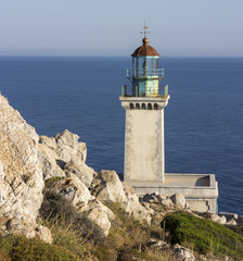 Light House in Cape Tenaro,Greece