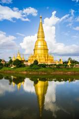Sriwiengchai pagoda in Lamphun Thailand