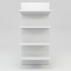 alphabet shelf shape I