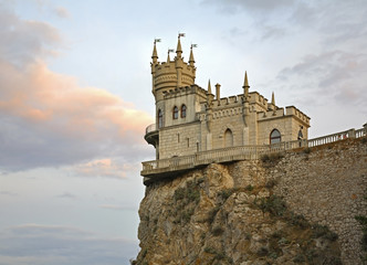 Swallow's Nest in Gaspra. Crimea. Ukraine