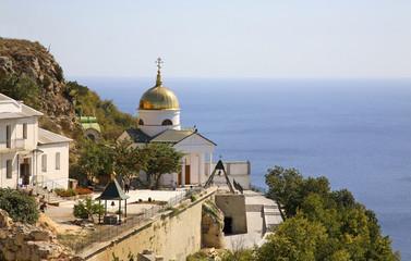 St. George's monastery on the Fiolent cape. Crimea. Ukraine