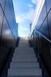 Leinwanddruck Bild - Treppe