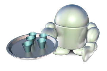 Serving android