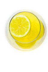 Limon on Alcohol glass