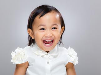 Sweet happy girl