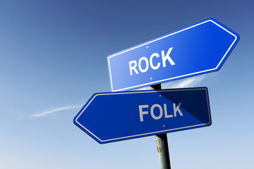 Rock and Folk directions.  Opposite traffic sign.