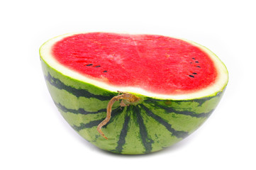 Watermelon from japan isolated on white background