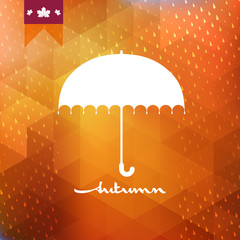 Abstract background with rain pattern. EPS 10