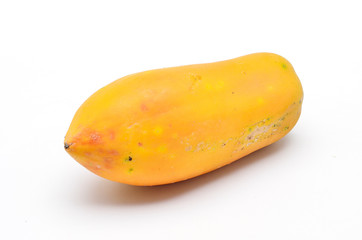 Papaya fruit isolated