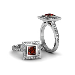 Ruby princess ring