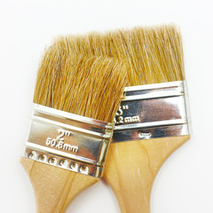 Set of two new renovation brushes