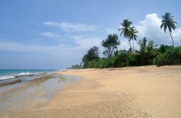 Tropical paradise  beach. Sri Lanka