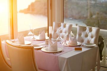 .restaurant table