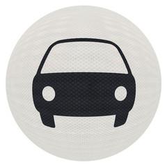 voiture sur balle blanche