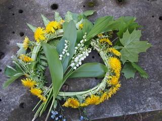Circlet of flowers