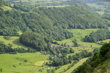 Paysage d'Auvergne.
