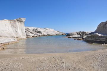 Milos - Sarakiniko - plage