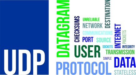 word cloud - udp