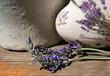 Lavendel-Dekoration
