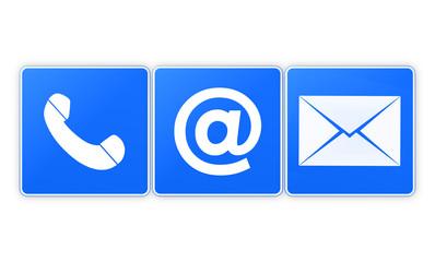 Contact Us Creative Icon Button Design Graphic