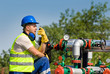 Oil worker - 66744604