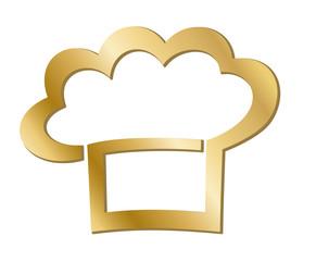Goldmütze - Koch (Logo)