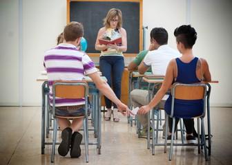 Ragazzi a Scuola