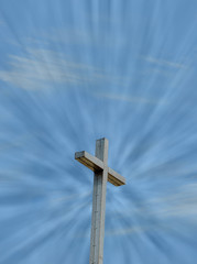 heaven and christian cross