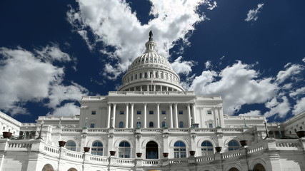 United States Capitol Building Time Lapse