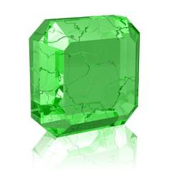 brüchiger Kristall