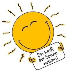 Die Kraft der Sonne nutzen!