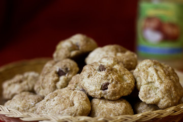 Chocolate Chip Applesauce Cookies