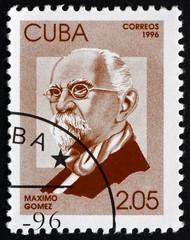 Postage stamp Cuba 1996 Maximo Gomez, General