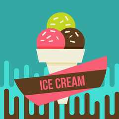 ice cream background