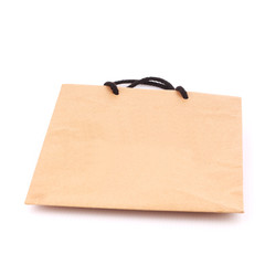 Shopping bag isolate on white