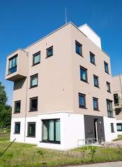 Modern townhouse in Germany