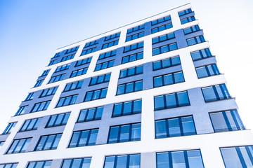 modernes Bürogebäude in Deutschland