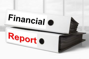 office binders financial report