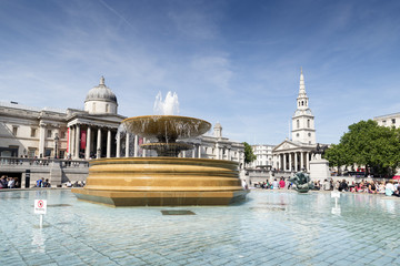 Fountain Of The National Gallery