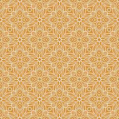 vintage orange pattern