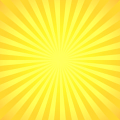 Abstract summer background, starburst illustration