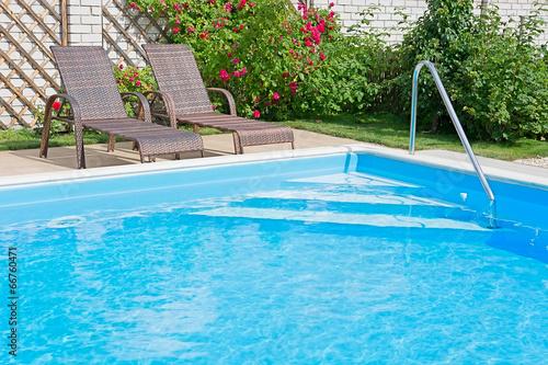 Póster Swimming pool.