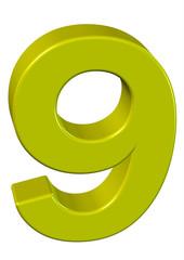 sarı renkli 9