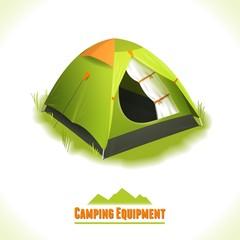Camping symbol tent