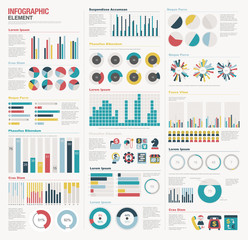 Infographic elements big set